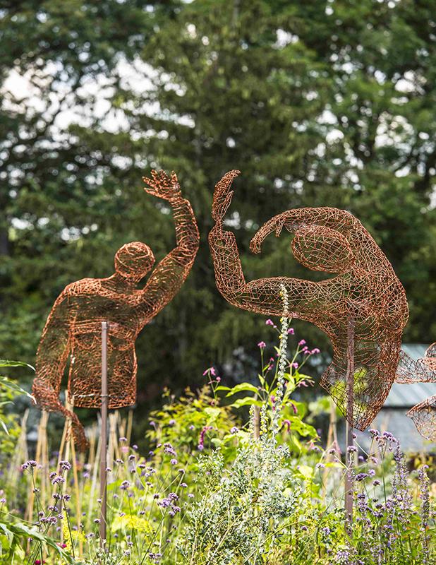 Kristine Mays: Rich Soil -- Photo: Courtesy Hillwood Estate, Museum & Gardens, by Erik Kvalsvik