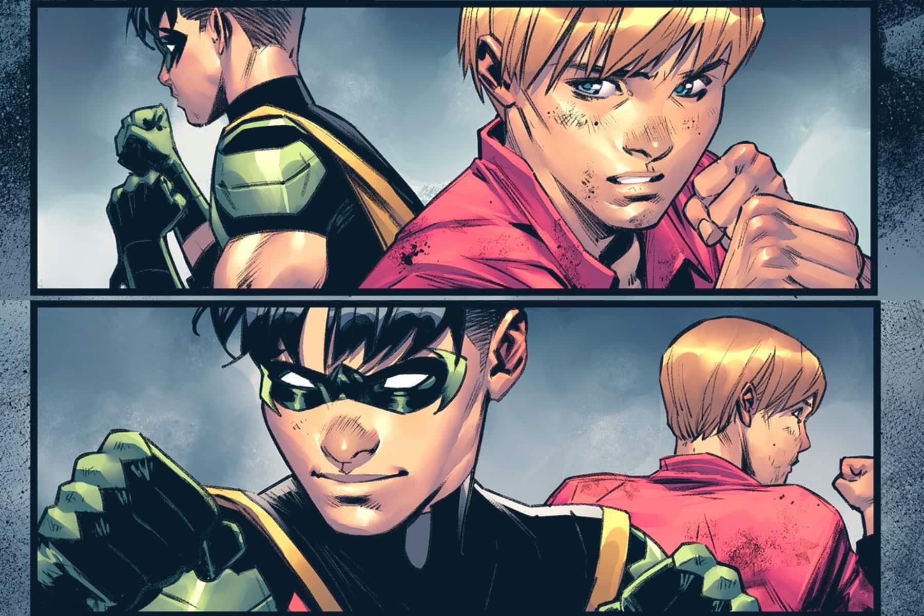 tim drake, robin, bernard, batman, dc comics
