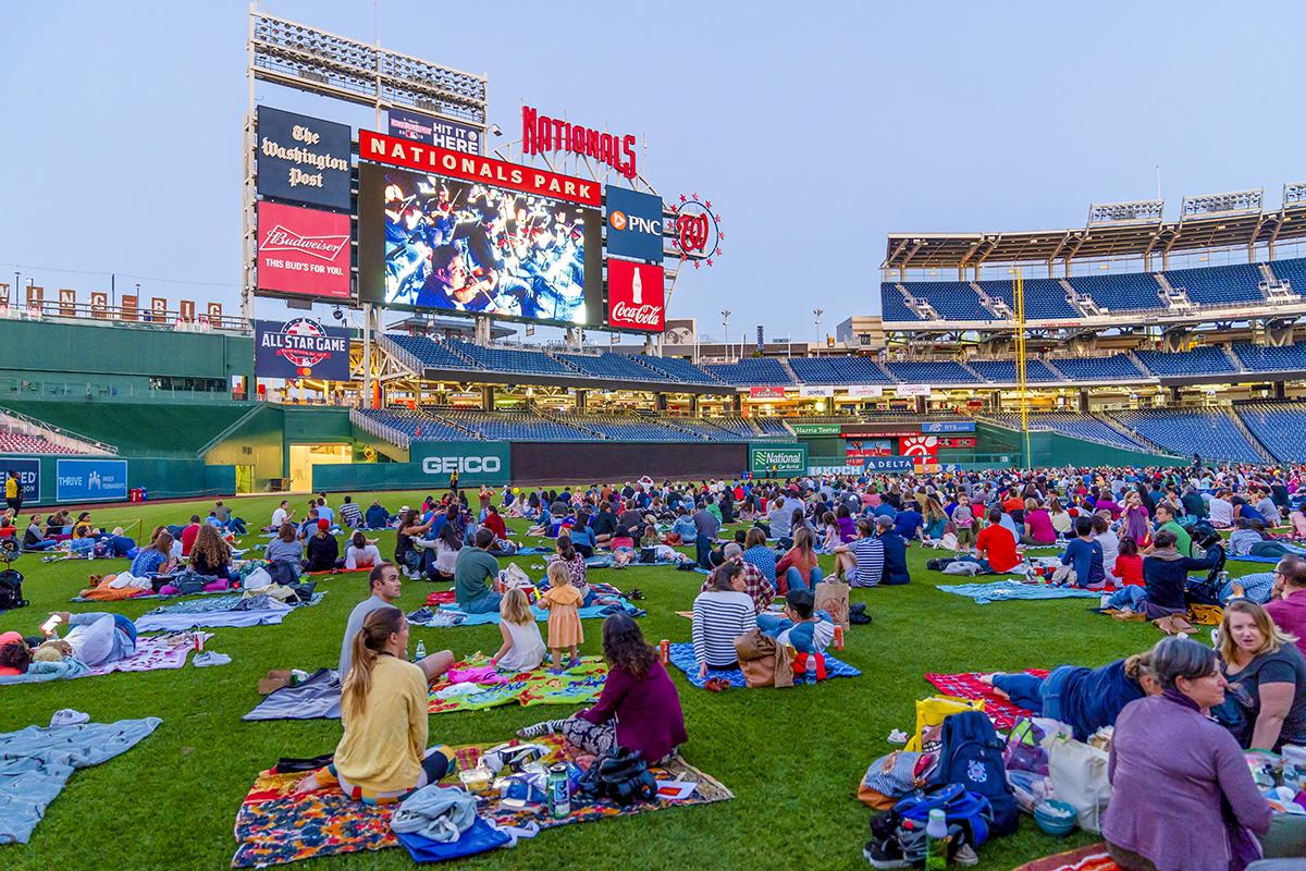 WNO's Opera in the Outfield -- Photo: Scott Suchman