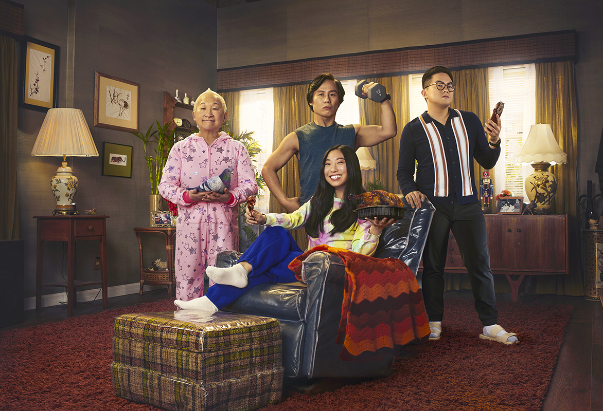 Cast of Awkwafina is Nora from Queens