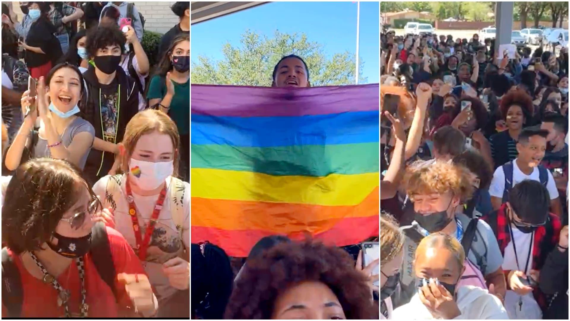 MacArthur High School, protest