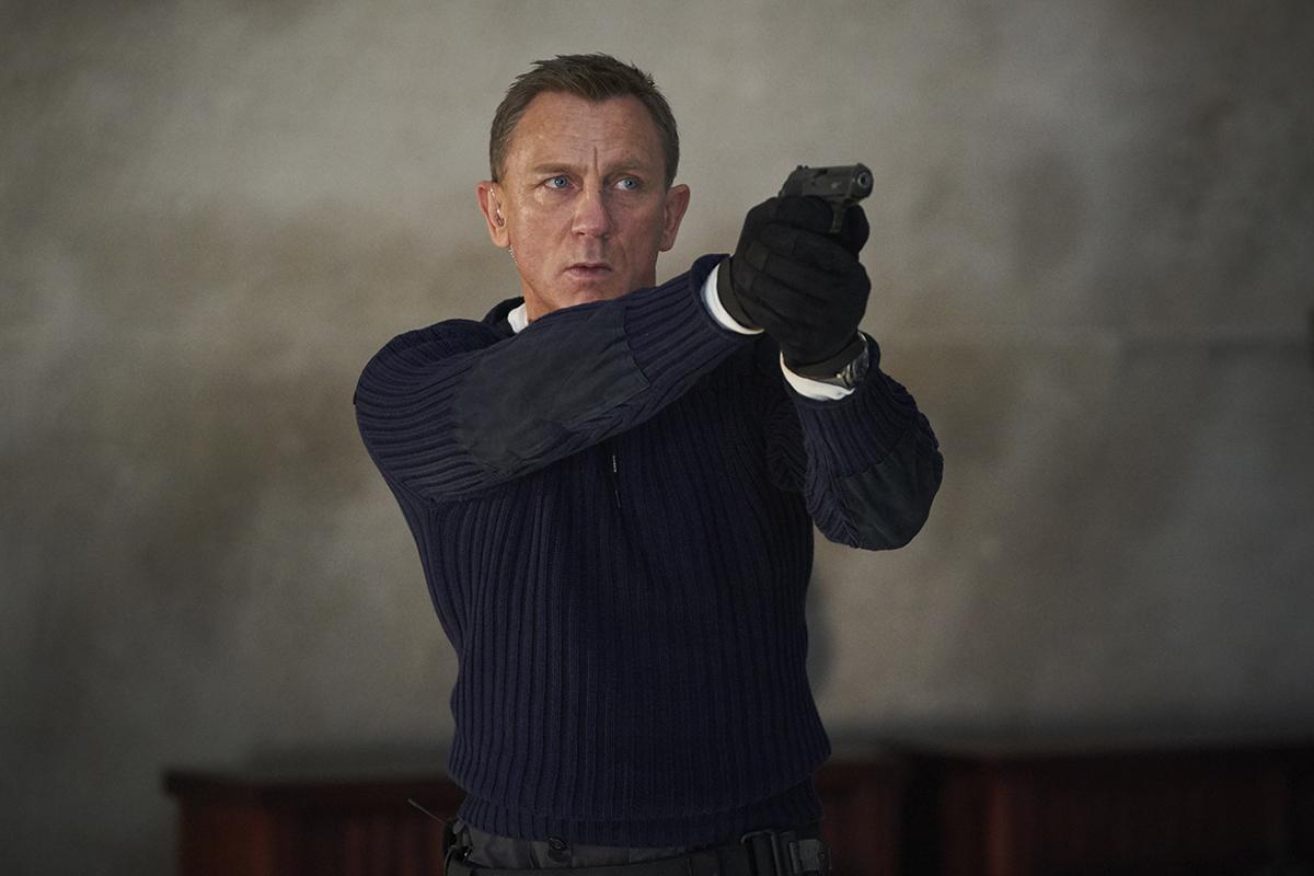 No Time to Die: Daniel Craig -- Photo: Nicola Dove